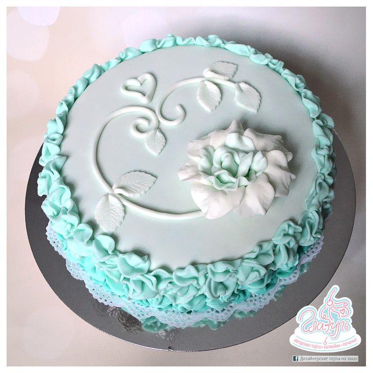 Turquoise cake https://www.facebook.com/katrin.smirnova.3958