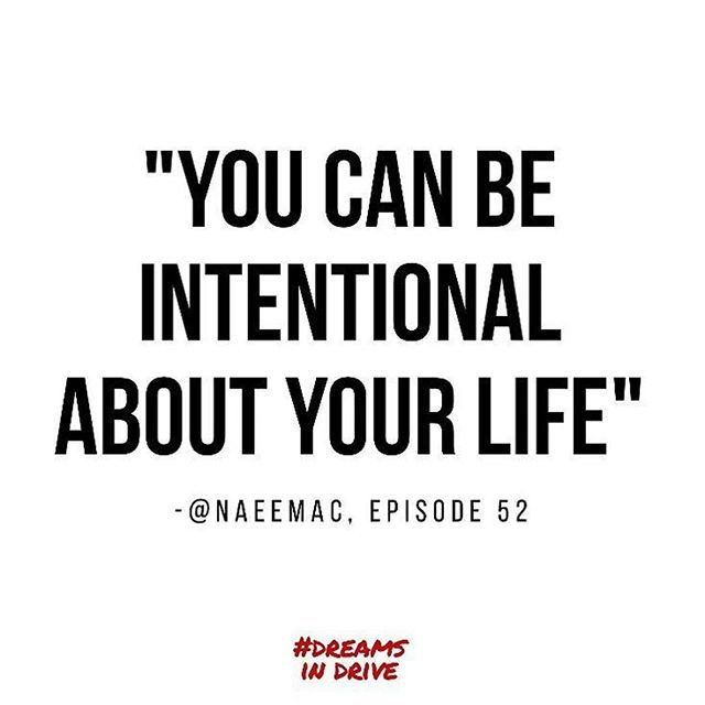 """#Repost @dreamsindrive ・・・ You have the power to guide your life with intentionality. Double tap if you agree! // In case you missed, don't forget to listen to episode 52 ft. @naeemac """"The Best Gift You Can Give Yourself"""". Listen in at dreamsindrive.com/naeema-campbell, #itunes, #soundcloud, #googleplay! #podsincolor #inspirationalquotes #tbt #quotes #motivation #success #dreamsindrive"""