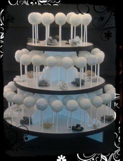 Black and white wedding cake pops stand!: Cakes Pop Pourri, Buffet Tables, Wedding Ideas, Cakes Pop Stands, Cakepops Artistry, Cake Pop Stands, Wedding Cakes Pop, White Wedding Cakes, Wedding Cake Pops
