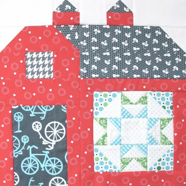 The Quilty Barn Along - Barn 8 and The Water Turn Block Tutorial!...
