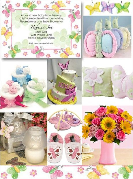 1000 ideas about butterfly baby shower on pinterest for Baby shower butterfly decoration ideas