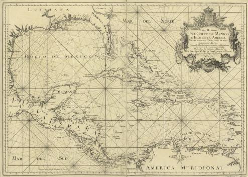 Resultado de imagen de mapa caribe antiguo