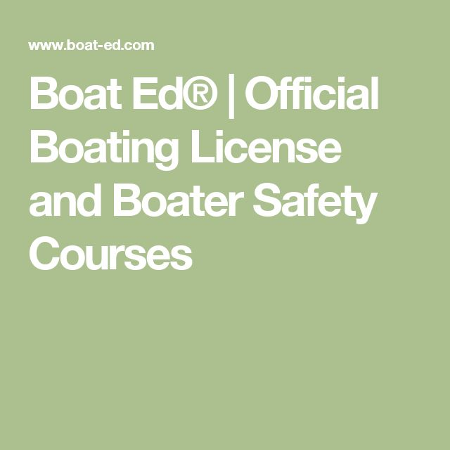 Boat Ed®   Official Boating License and Boater Safety Courses