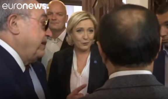 Marine Le Pen Cancels Meeting with Lebanon's Grand Mufti - Refuses to Wear Head Scarf (Video)