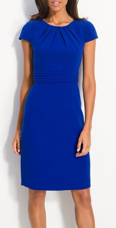 Stunning electric blue!  Type 4 color, Dressing Your Truth