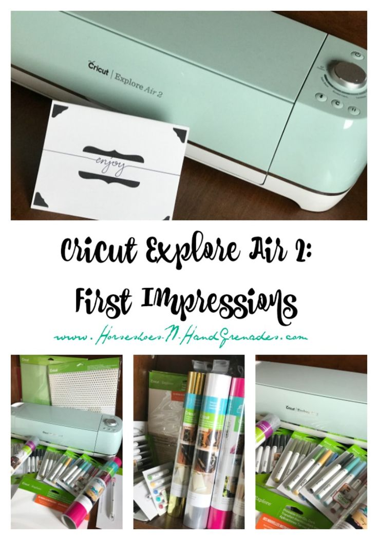 It seems like I've been waiting forever, but I finally have one - Cricut Explore Air 2: First Impressions #ad @OfficialCricut #cricutmade http://horseshoes-n-handgrenades.com/2017/02/09/cricut-explore-air-2-first-impressions/