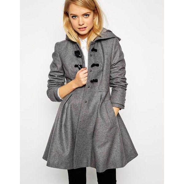 Cele mai bune 25  de idei despre Hooded wool coat pe Pinterest ...