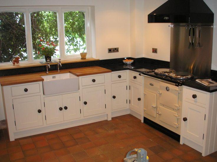 17 best images about kitchen on pinterest virginia for Shaker cream kitchen ideas