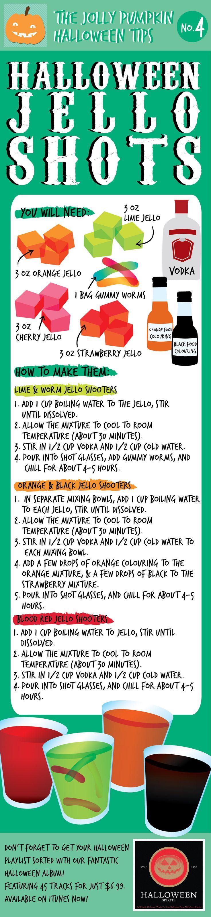 @Kerry Koutouvidis send this to Salina lol Halloween Jell-O Shots recipe !