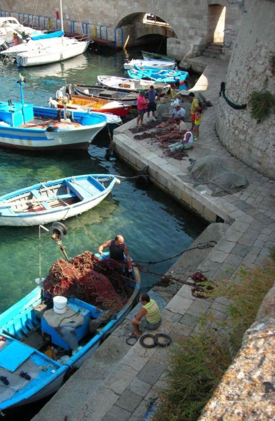 gallipoli pescatori