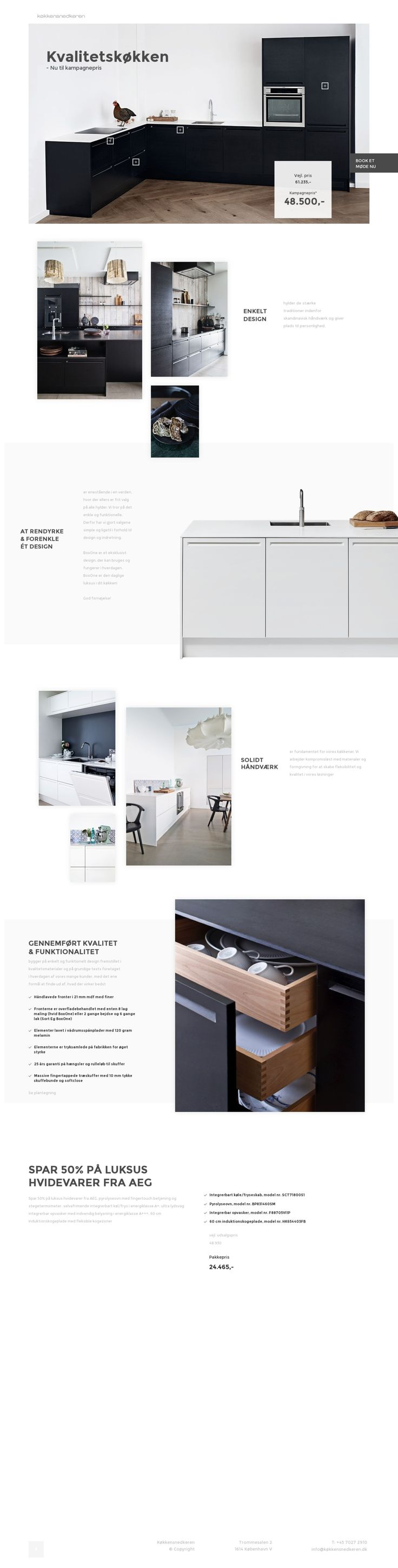 kitchen web design. Design gallery with the best and most carefully collected websites  We help creatives find inspiration motivation to do rad stuff 2452 Web design images on Pinterest Website designs