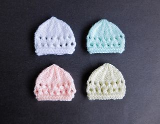 4d6f4916d4c Ravelry  Jay Micro-Preemie Baby Hats pattern by marianna mel
