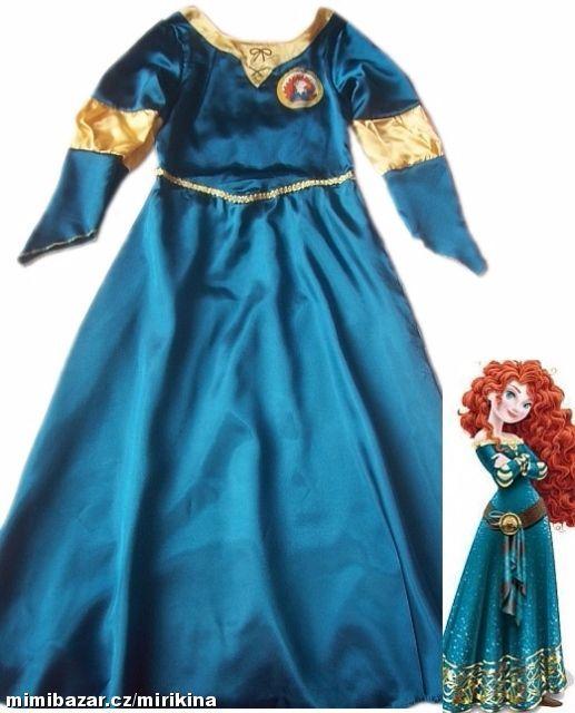 219d0d059f28 Prodám - Karnevalové šaty pro Meridu Rebelku