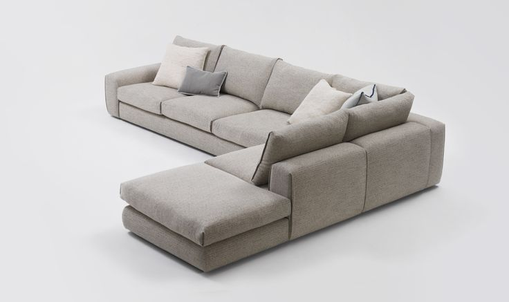 Hand crafted to create the illusion of a seamless sofa for Sofa hudson