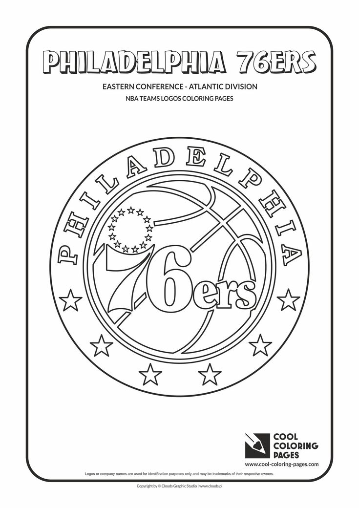 Cool Coloring Pages NBA Teams