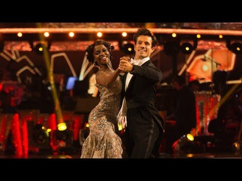 Danny Mac & Oti Mabuse Quickstep to 'I Won't Dance' - Strictly Come Dancing 2016: Week 4 - YouTube