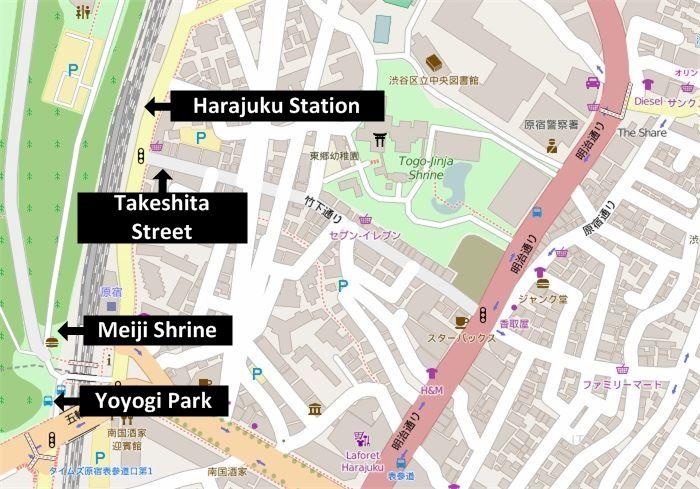 Harajuku Takeshita Street Guide