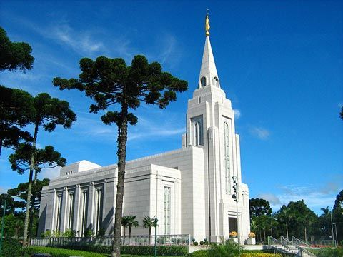Curitiba Brazil Mormon Temple. © 2010, Wellington Luiz Siqueira. All rights reserved.