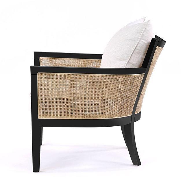 Our Hampton Club Chair w Black Frame has arrived ...