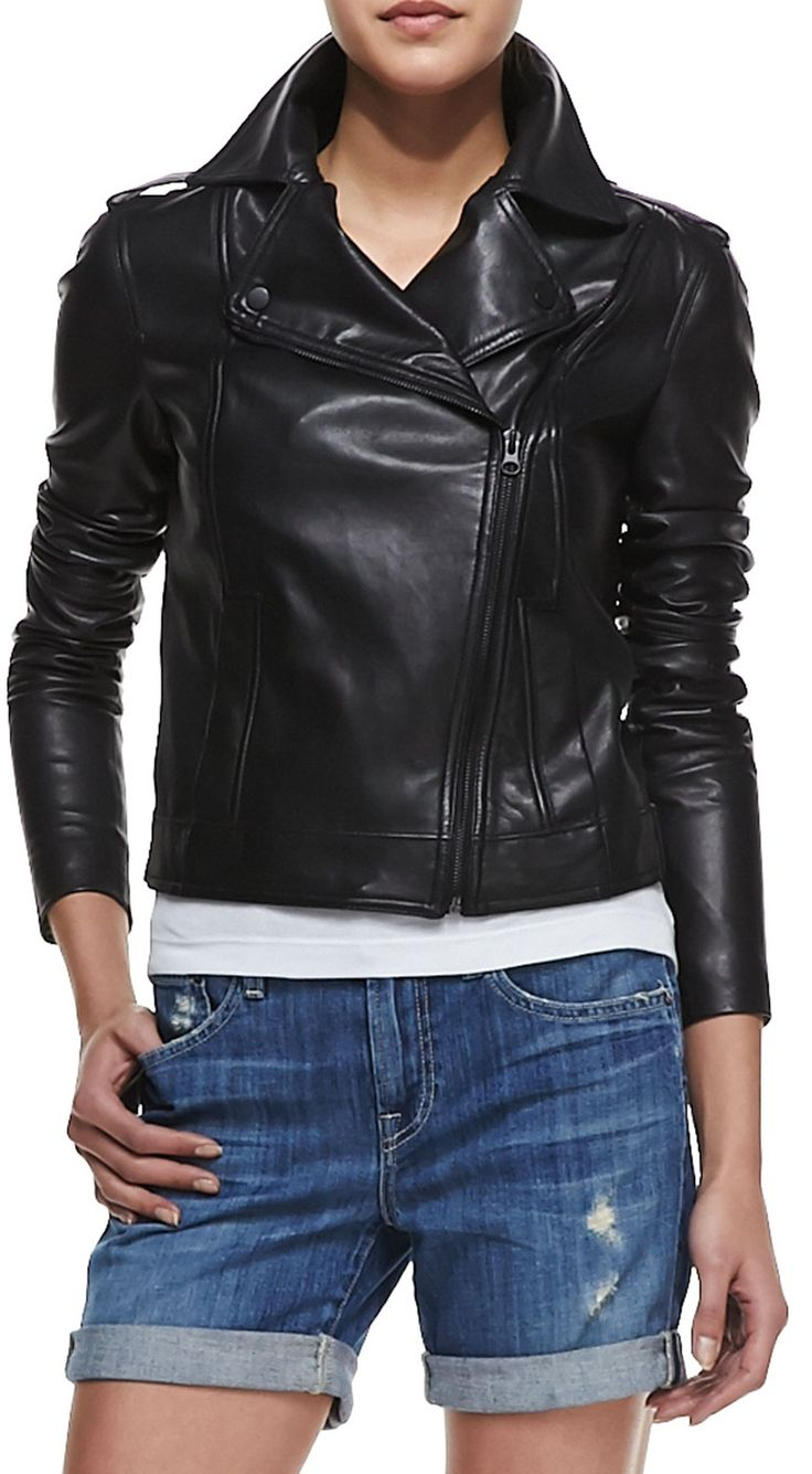 1000+ ideas about Women Leather Jackets on Pinterest ...