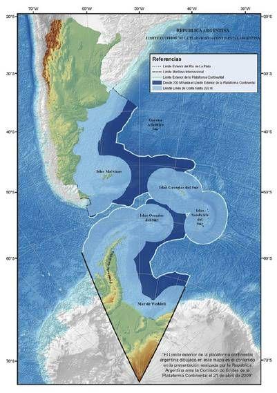 Articulo sobre el equipo de COPLA extension del territorio marino argentino