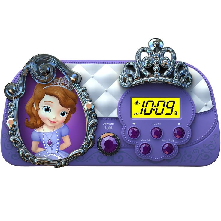 Sofia The First Night Glow Character Alarm Clock Final Call For This Special Discount Home Decor Clocks