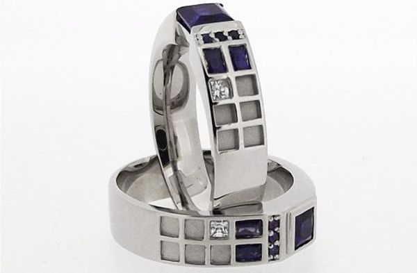 Tardis ring. Stealth nerdiness :P