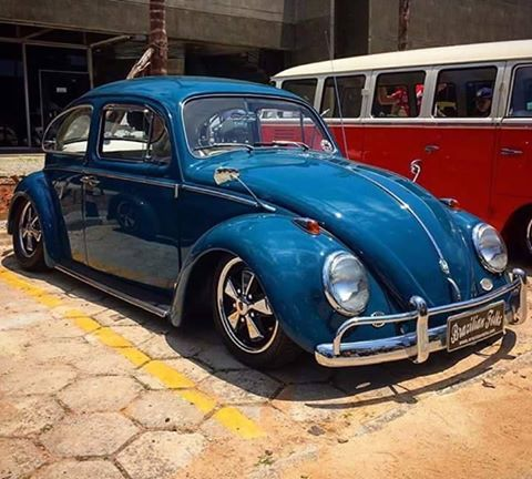 Classic VW Bug - love those mirrors