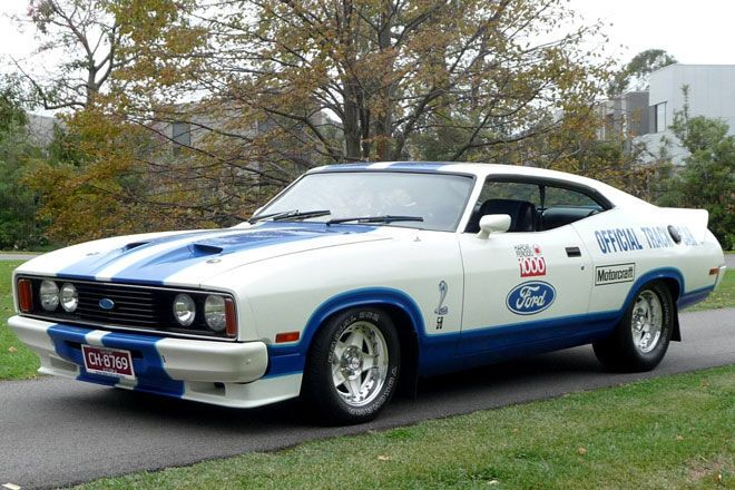 Ford XC Cobra from 1978. Australian muscle car