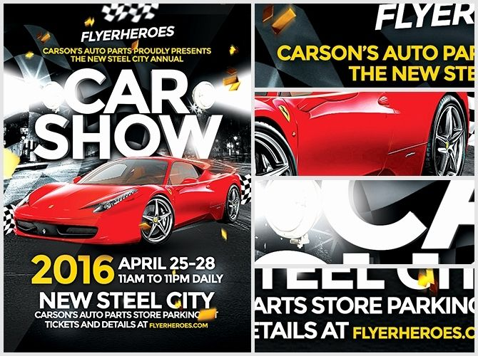 Car Show Flyer Templates Flyer Flyer Template Free Cars