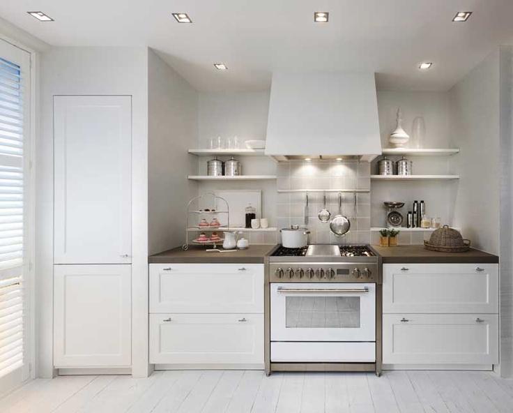 Cuisine style maison de campagne en bois style - Maison style campagne chic ...