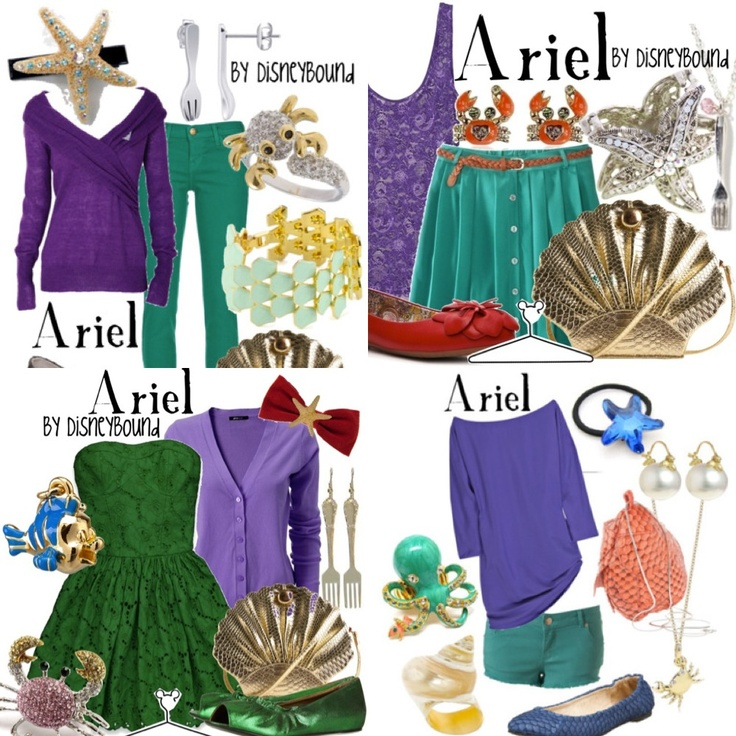 The little mermaids outfit! :D