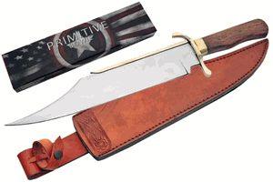 Primitive Bowie Knife – Black Squirrel Outdoors