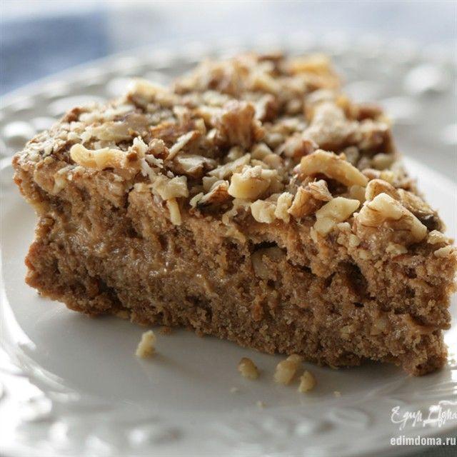 """Орехово-кофейный торт """"Идеал""""Ингредиенты: масло ..."""