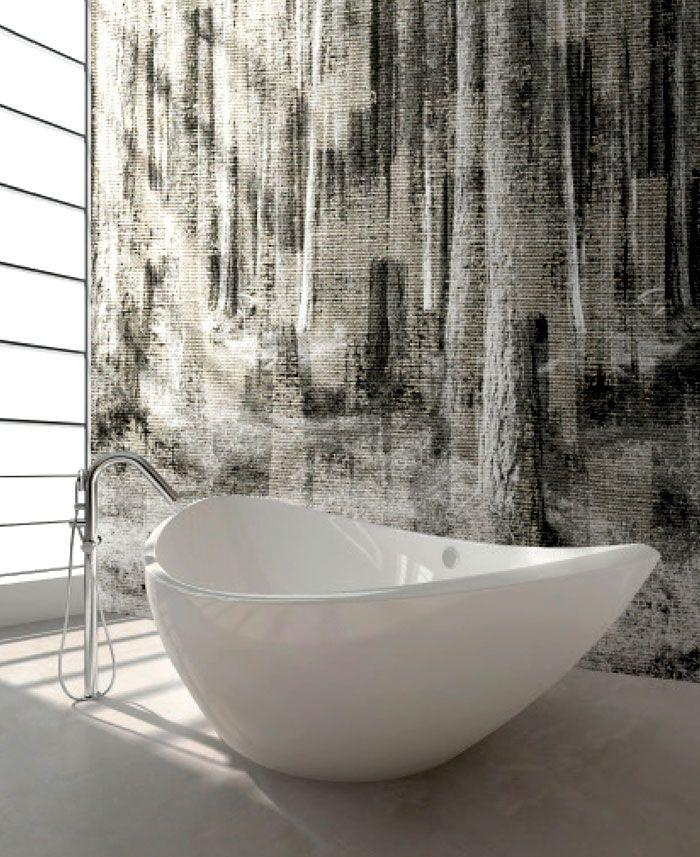 Wall Covering Suitable To Bathrooms Bathroom Wallpaper Modern Bathroom Decor Mural Wall Art