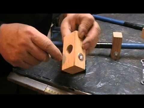 DIY : Fabrication maison de serre joints dormant .... Kastepat
