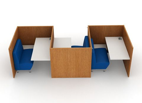 Single users can finally study in silence with the new NOOK from AGATI. http://www.agati.com/nook-workstation/