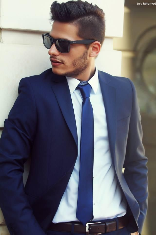 45 best men suits images on Pinterest | Fashion for men, Blue ...