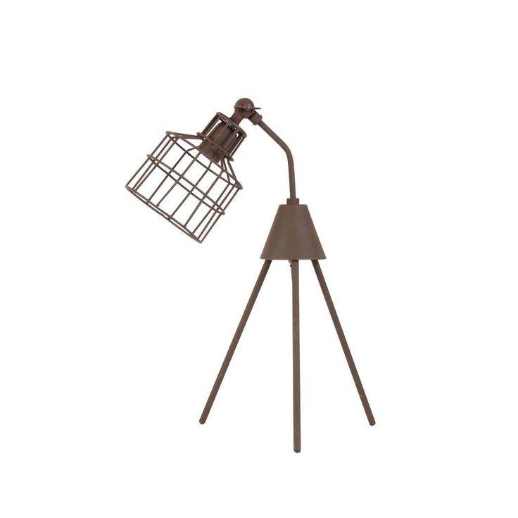 Woonexpress | tafellamp MARAIS | Tafellamp Marais is het zusje van de vloerlamp Rabansi. Leuk om samen te combineren!. De tafellamp is gemaakt van metaal en heeft een mooie bronzen afwerking in een stoere roestafwerking.
