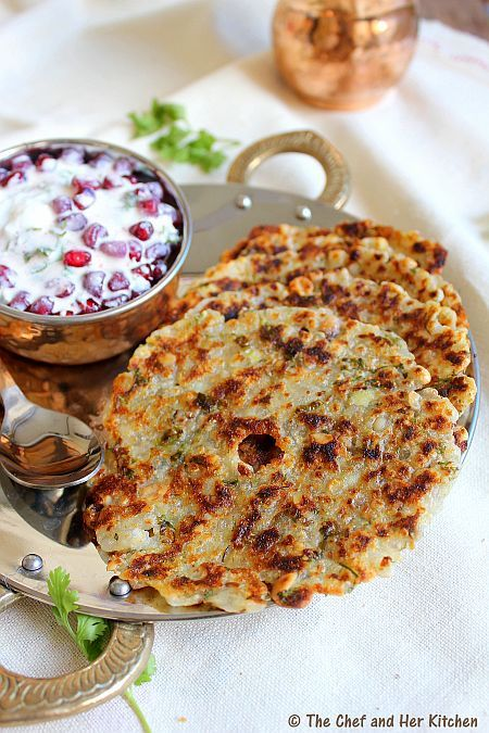 THE CHEF and HER KITCHEN: Sabudana Thalipeeth   Navratri Vrat Recipes