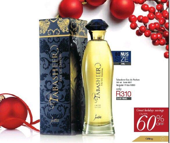 Justine's most popular fragrance