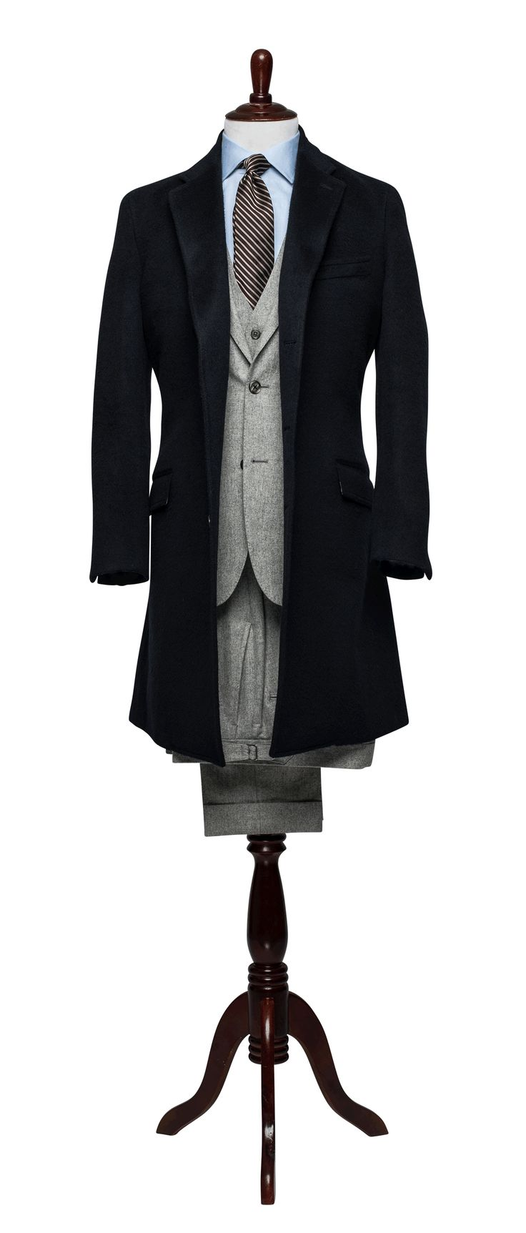 Midnight Wool Topcoat