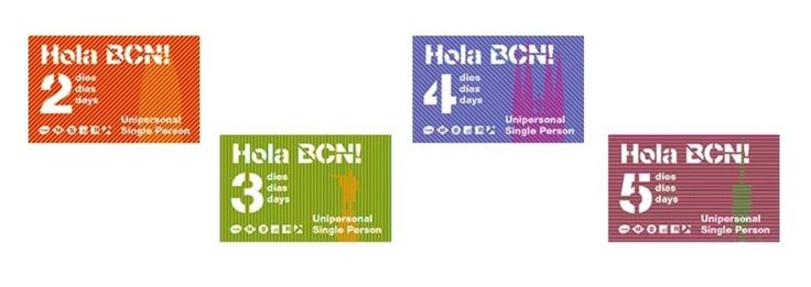 Barcelona Travel Card by days: Hola Bcn!