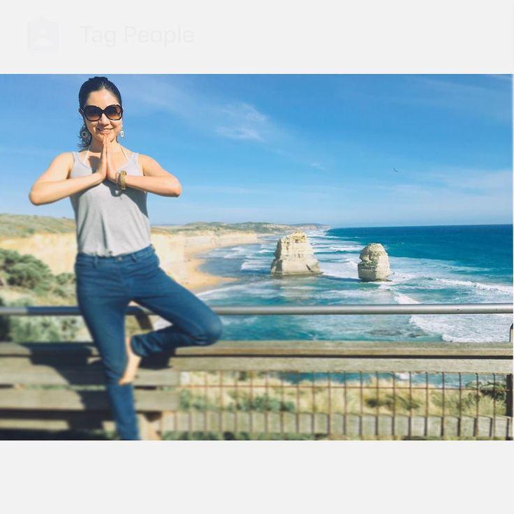2015年の目標 ヨガと英語と健康的な食事や生活を送ること 2016年はYoga PhotoもいっぱいUpします Now my goal is to practice more yoga and English.AndI want to tell the Japanese healthy beauty culture. 2015年も多くの方に大変お世話になりましたありがとうございましたみなさん良いお年を  #yogapose #yoga #nature #greatoceanroad #Healthybeautylife #Japanese #念願の #大自然とヨガ by yukiiito