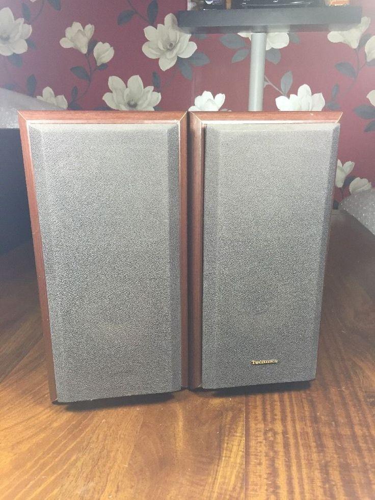 Technics SB HD350 Hi-fi Speakers pair  in Sound & Vision, Home Audio & HiFi Separates, Speakers & Subwoofers | eBay!