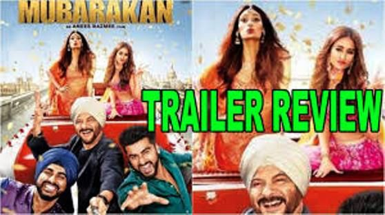 Mubarakan review: Anil Kapoor is the torchbearer in comedy   Mubarakan is this week's release brings Anil Kapoor with Anees Bazmee, director. In this movie Anil Kapoor brings good laughs.  Anees Bazmee's film is well established without the 60-year-old actor dynamism. There is comedy of errors that appears as a messy affair. There is no doubt that Anil Kapoor dominates the frame of this movie, establishing a fact that age is merely a number and...