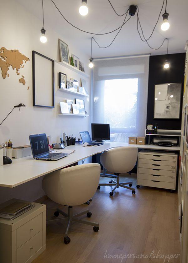 M s de 25 ideas incre bles sobre peque os espacios de for Oficina moderna en casa