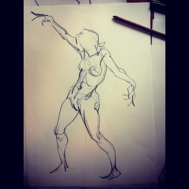 #drawing of Aycil's #pose I did while #teaching at #Disney #animation #model #figuredrawing #pencil #pencildrawing #spirit #sketch #quicksketch #artlovers #art #laart #fineart #dynamicsketching #anatomy #instaart #illustration #artcenter alumni