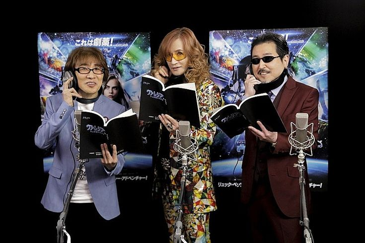 THE ALFEE「THE ALFEE、リュック・ベッソン監督SF最新作『ヴァレリアン』で声優デビュー決定!「しかも人間の役じゃないもんね」」1枚目/4
