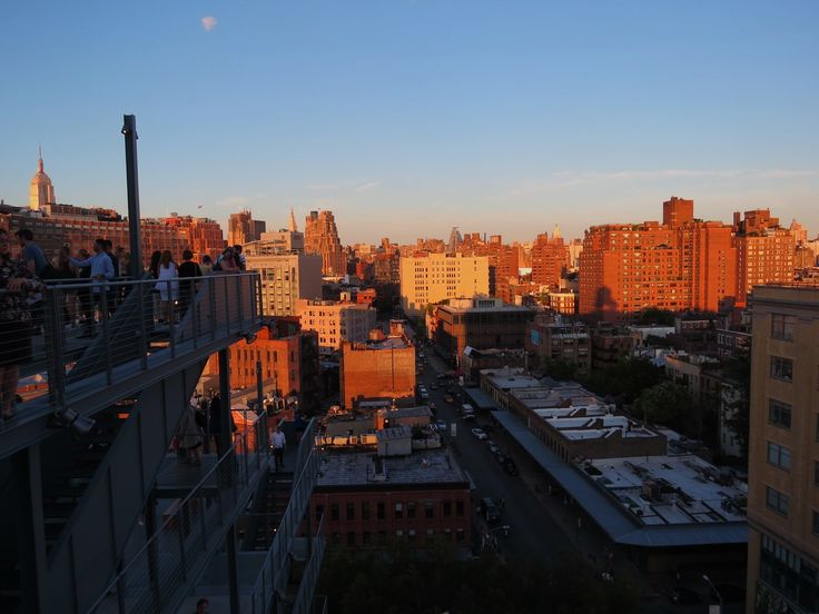 Sunset from the Whitney museum in NYC. #2015